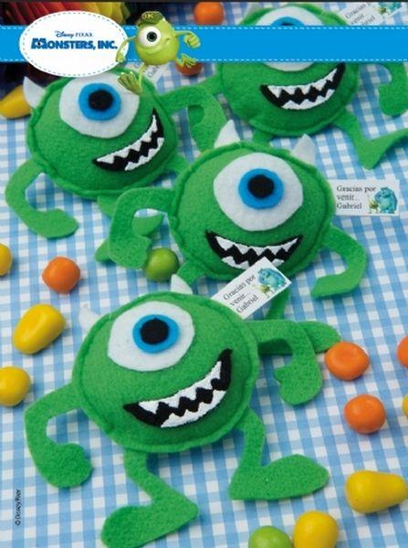 Souvenirs de cumpleaños de Monster INC.