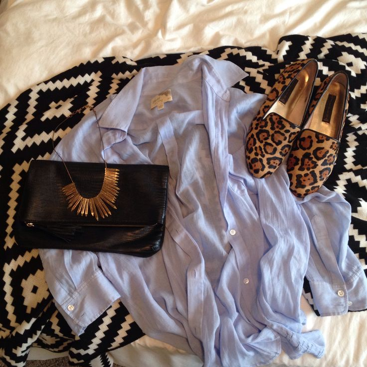 Fall layers Elizabeth and James, Olsens, Steven Steve Madden, leopard loafers, Statement necklace, more at www.akalayers.com