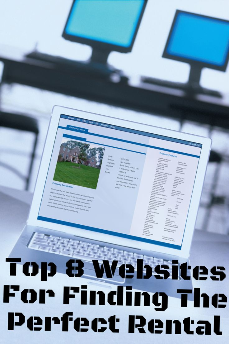 TOP 8 Websites for finding and renting the perfect home.  -- This was soooo helpful!!  Will definitely be using every time we move!  Moving Time!  Rental Search!