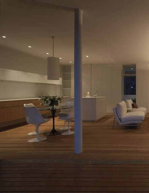 BELLEVUE HILL APARTMENT | alwill  #interiors #kitchen #diningroom #pendant #neutral
