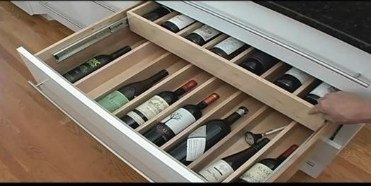 Wine Drawer Insert Expandable Drawer Organizers For