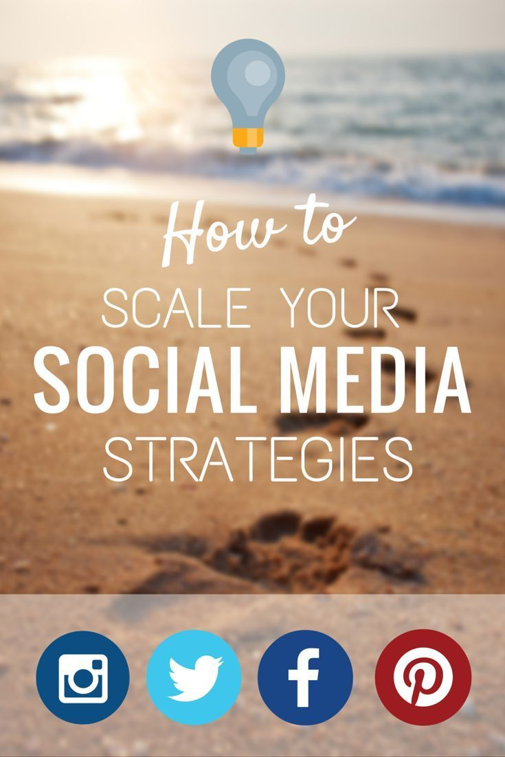 How to scale your social media strategies to grow your social media platform from a top social media strategist managing a large client base. https://blog.bufferapp.com/scale-social-media-growth-strategies