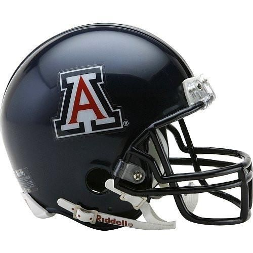 Arizona Wildcats Helmet Riddell Replica Mini VSR4 Style
