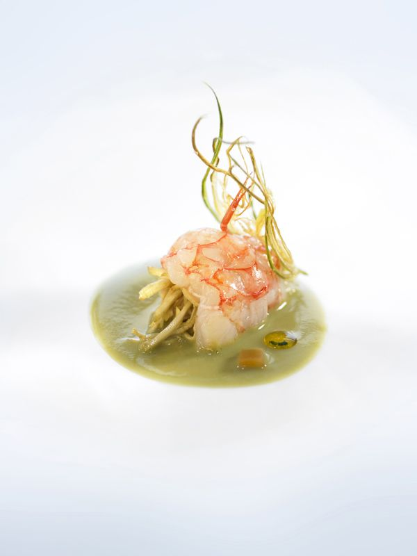 Modern cuisine inspired by the landscape and Catalan culinary traditions.Carme Ruscalleda. San Pau  #Catalonia #plating #presentation