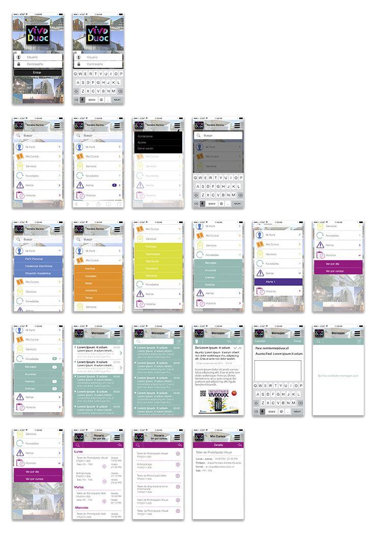 Mockup para Aplicacion Movil