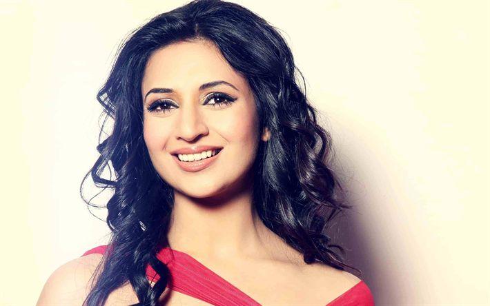 Download wallpapers Divyanka Tripathi, Bollywood, indian actress, beauty, brunette, photoshoot