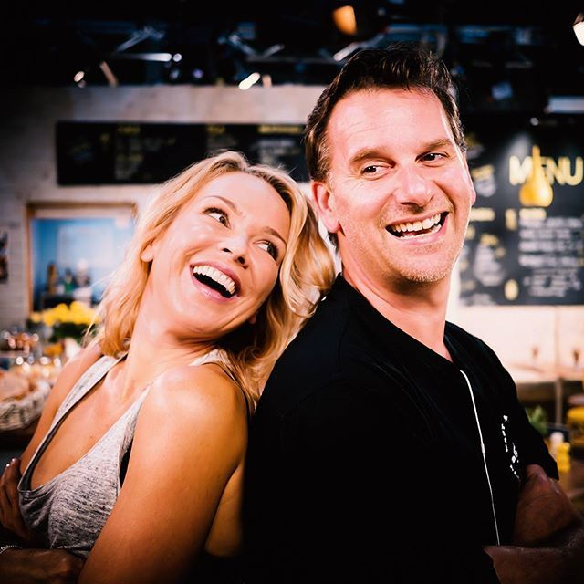 BFFs just like old times ❤👌 @carlabonner3 @scottmaj #Neighbours  Carla Bonner 17th March 2016 Neighbours Instagram