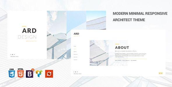 ARD - Architect   Builder Minimal WordPress Theme