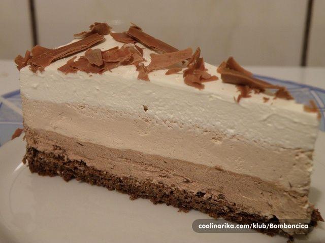 Ovo je moja omiljena torta, koju sam redovno jela u slastičarni u Banja Luci, ali joj nažalost konstantno opada kvalitet u poslijedje vrijeme, pa je od sada pravim sama. Za sebe i druge :) Milicza je na 78 komentaru postavila link na kom Godiva detaljno objašnjava na šta se treba obratiti pažnja pri izgadi ganache krema. http://www.mojamansarda.com/index.php?topic=1711.0 Stranica na kojoj je takođe objavljen moj recept, a isto ima dosta savjeta Hvala vam cure:)