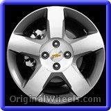 Chevrolet Cobalt 2010 Wheels & Rims Hollander #5438 #Chevrolet #Cobalt #ChevroletCobalt #2010 #Wheels #Rims #Stock #Factory #Original #OEM #OE #Steel #Alloy #Used