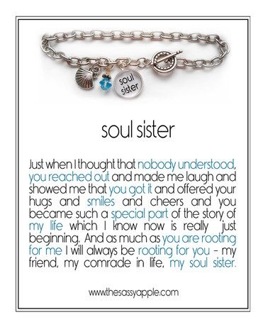 Look at this #zulilyfind! Silver 'Soul Sister' Crystal Birthstone Charm Bracelet #zulilyfinds