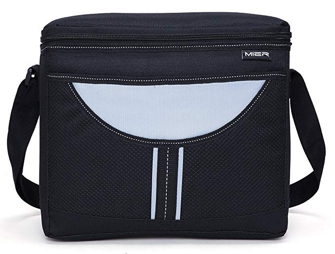 7a54ef4a8ffd7 MIER Insulated lunch Box Bag Adult Men and Women Soft Cooler Bag ...
