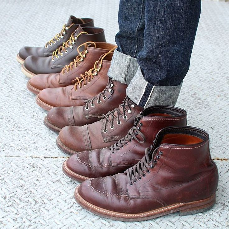 Indy- & Red Wing boots