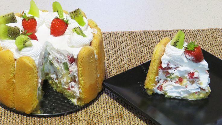 Tort Diplomat cu Fructe (Fara coacere) + ANUNT CASTIGATOR CONCURS!