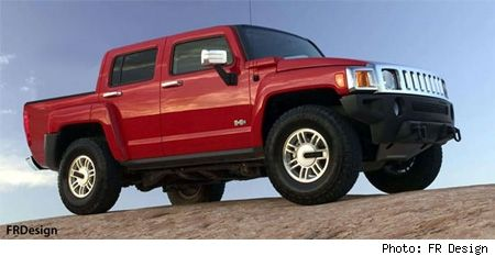New HUMMER truck coming in 2009