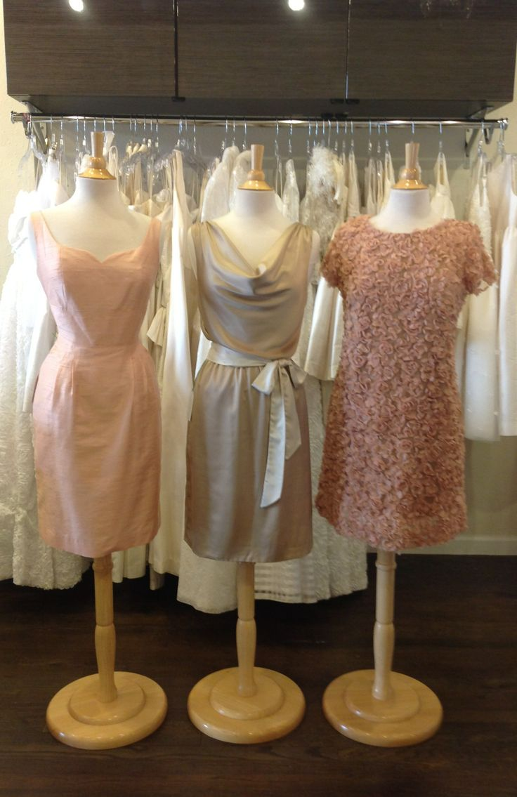 A mix of our Signature Classics and Unzipped collections featuring neutral and peach tones for a perfect wedding color palette.