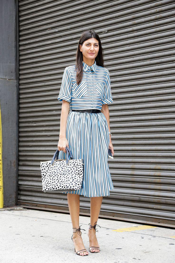 Street Style, New York: 20 stunning snaps captured on the last day of NYFW // Giovanna Battaglia