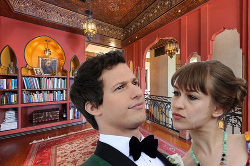 SNL alum Andy Samberg and his harp-wielding wife Joanna Newsom have closed on Moorcrest, the famed 1920s L.A. mansion where Mary Astor and Charlie Chaplin once lived.