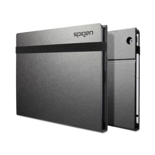 Hardbook.S Black Silver Folio for new iPad