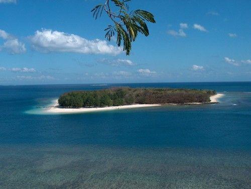 Gili Nanggu Panorama of Lombok Island