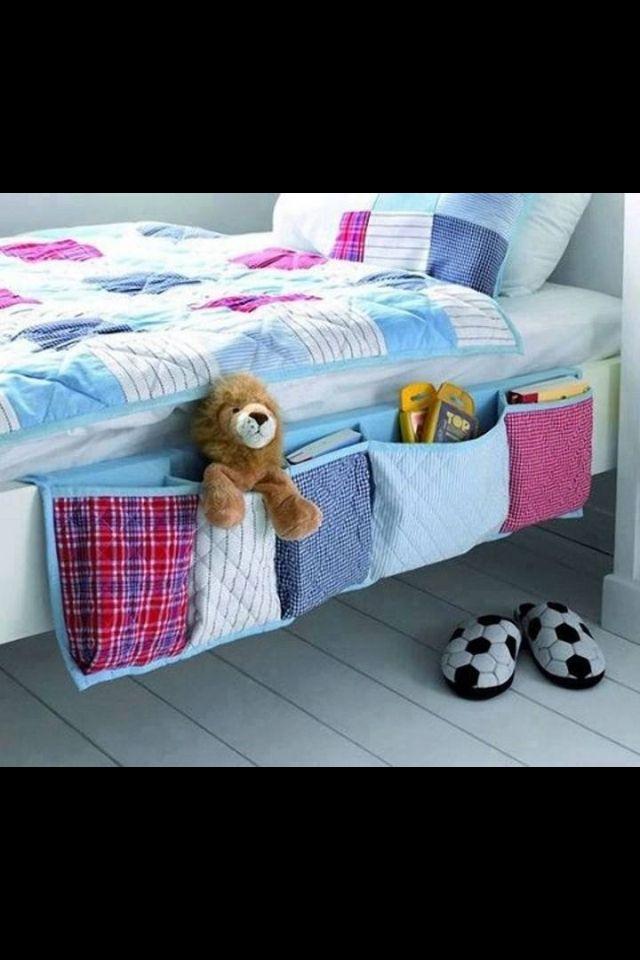 storage pockets for beds