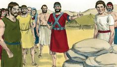 This lesson was created to be used on Memorial Day weekend. It is based on the story from the book of Joshua when God instructs a man from each of the twelve tribes to take a stone from the Jordan…