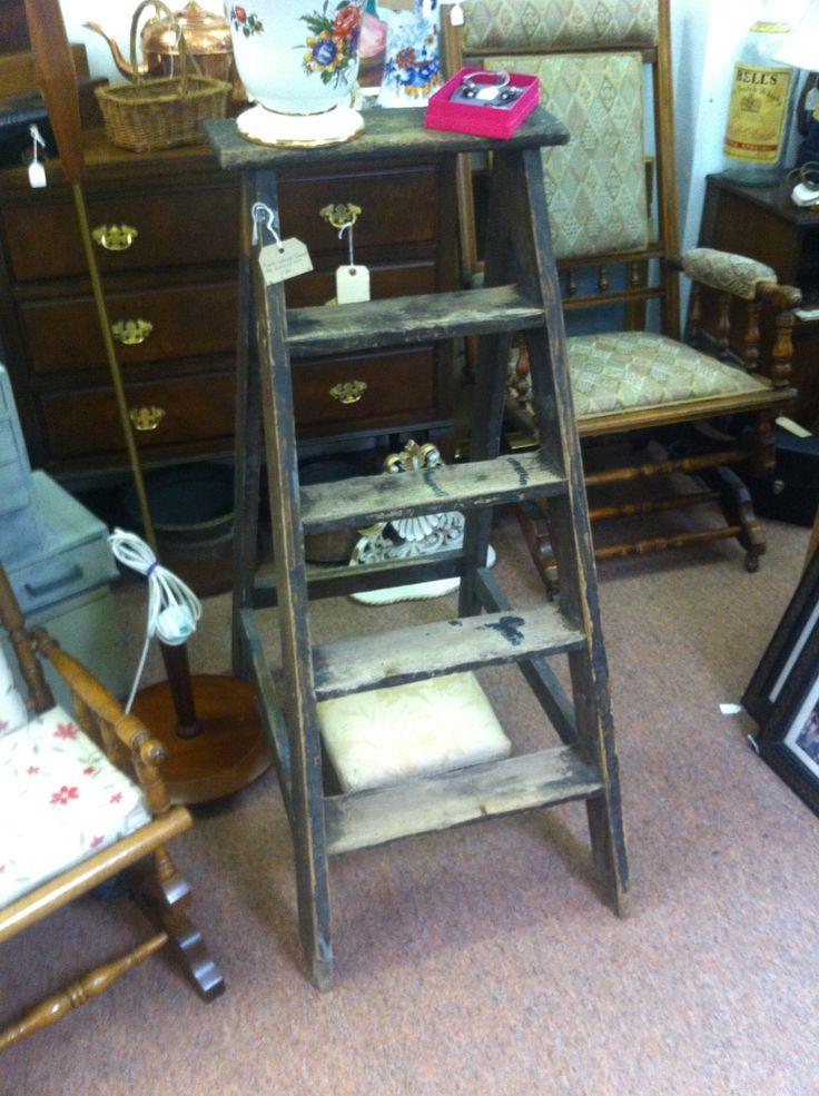 Cams Antique Centre Ladder £36, 3ft + high