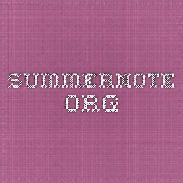 summernote.org