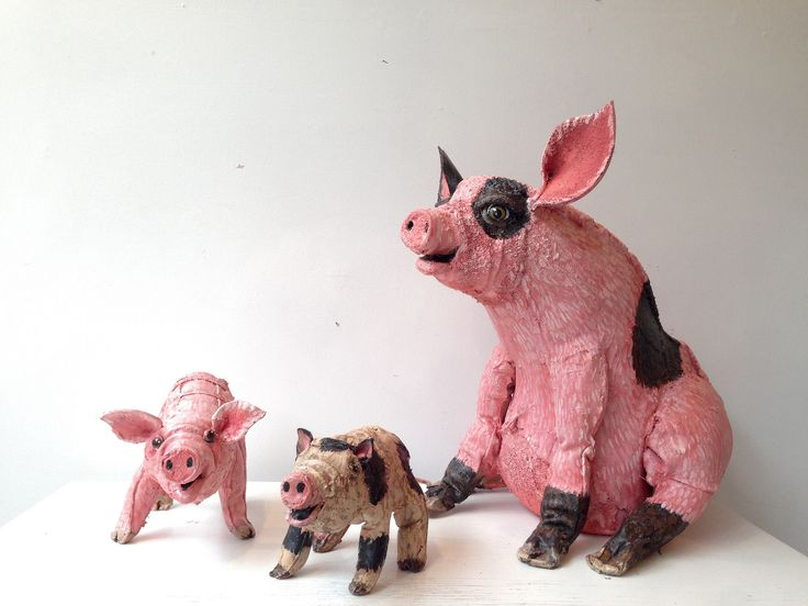 https://flic.kr/p/tf46rG   Pig $175 Piglet $75 each (special price can be arrangded if purchasing the whole family)