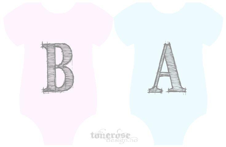 baby banner BA tonerosedesign