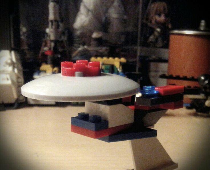 Test build: Brickterpriae-D. Boldly go where no brick has gone before.