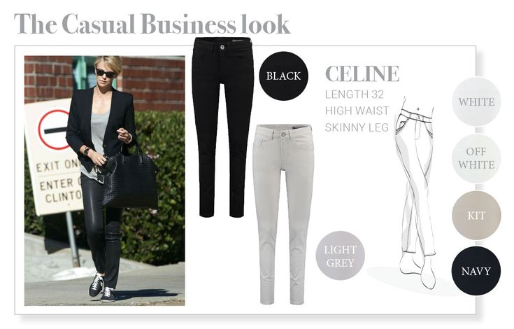 The Casual Business look, Fit Celine Para Mi.