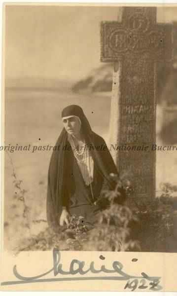 BU-F-01073-1-00190 Regina Maria a României. Balcic, 1928 (niv.Document)