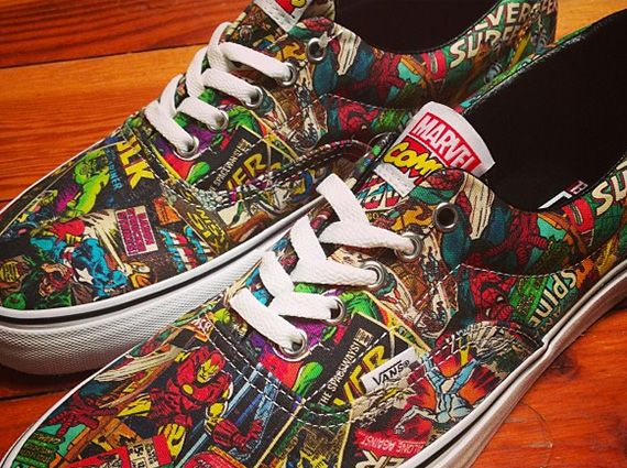 vans, sneakers, comic, vans comic, comic shoes, comic sneakers,