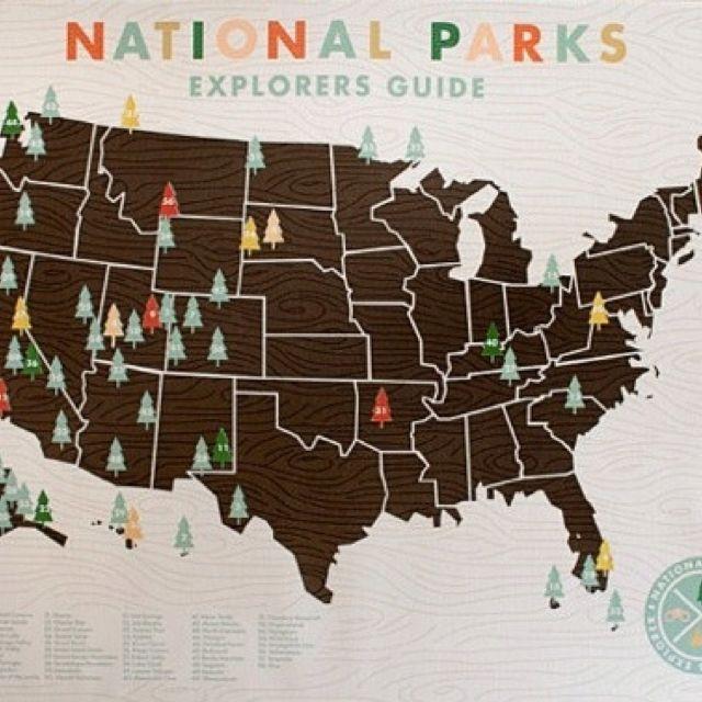 For the national park adventurer!