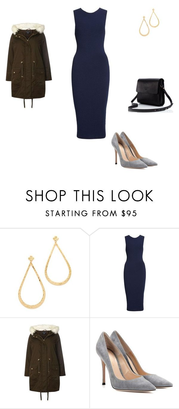 """""""Untitled #5120"""" by explorer-14576312872 ❤ liked on Polyvore featuring Gas Bijoux, Victoria Beckham, Dorothy Perkins and Gianvito Rossi"""