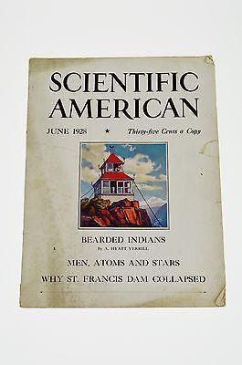 Scientific American Magazine, June 1928 Issue