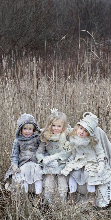 Одежда для девочек, ручной работы. Заказать Лакомка из Зимней сказки- продолжение... Светлана Вронская. Ярмарка Мастеров. Нуновойлок, юбки, шерсть