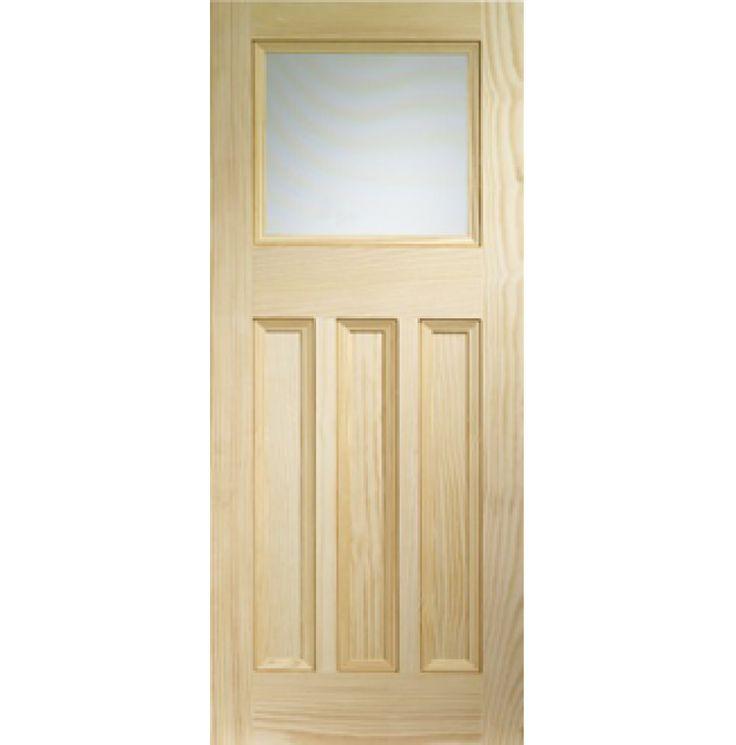 Vertical Grain Pine DX Glazed Internal Door