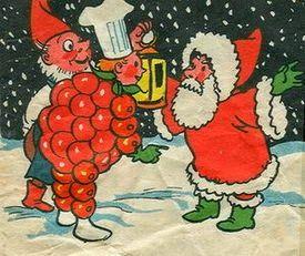 Flipje in de sneeuw bij de kerstman
