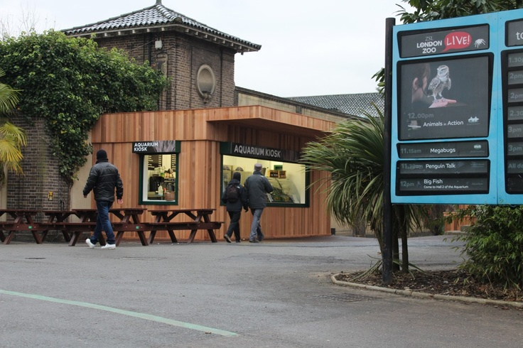 One of our latest Food Cube installations at London Zoo!