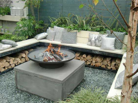 15 best fire pit images on pinterest backyard fire pits firepit ideas and home - Types fire pits cozy outdoor spaces ...