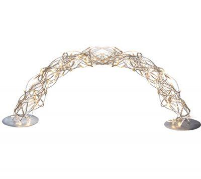 Curly LED-Båge Silver - Julbelysning från Star Trading