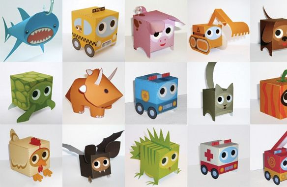 paperboxworld speelgoeddoosjes