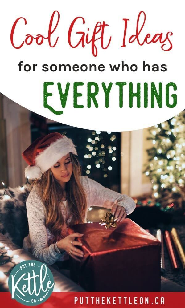 Looking for thoughtful and unique gift ideas for someone who has everything?  Get inspired with these cool gift ideas which are perfect for family and ... - Unique Gift Ideas For Someone Who Has Everything Seasonal