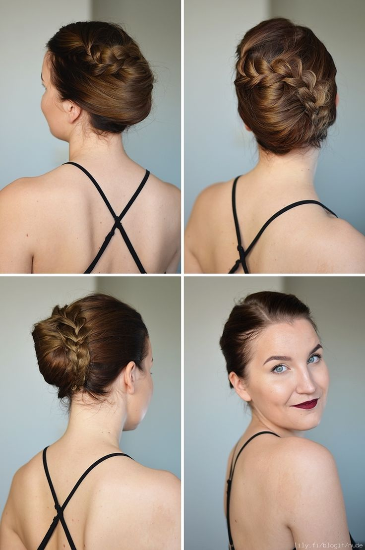 Hair Tutorial: Braided French Twist - NUDE | Lily.fi