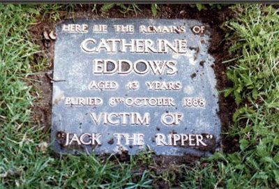 Catherine Eddowes. Victim of Jack the Ripper, City of London Cemetery.