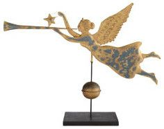 Trumpeting Angel Weather Vane - New  holiday decorations