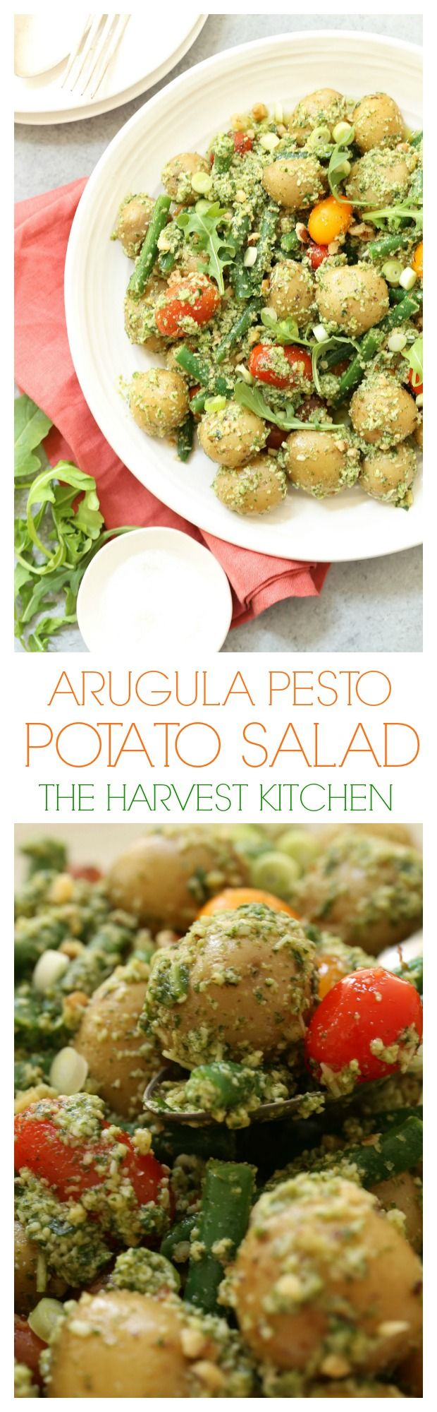 This Arugula Pesto Potato Salad is likely to be one of the easiest potato salads…