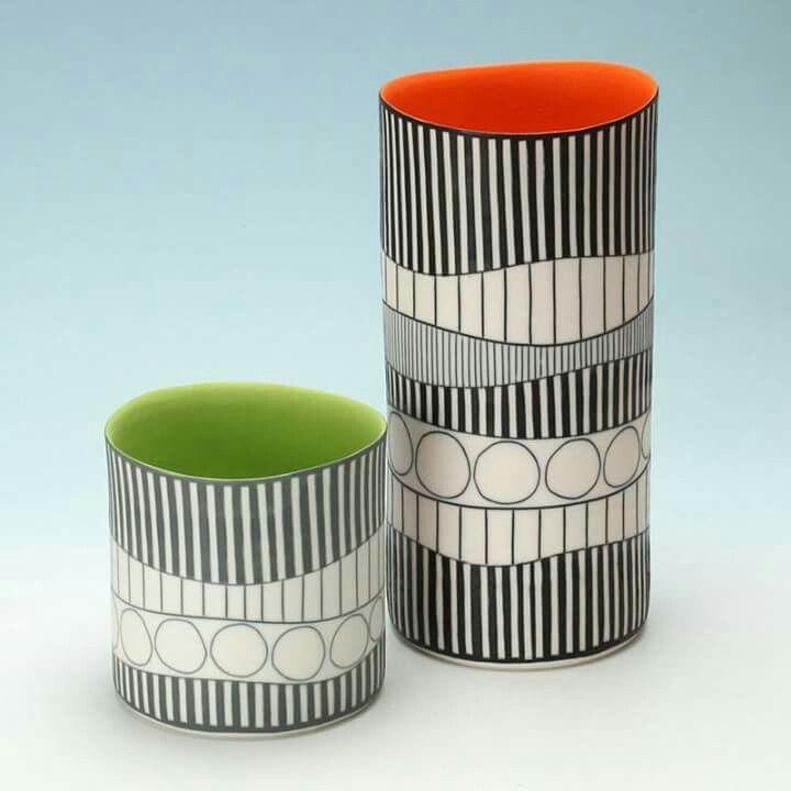 Colourful retro ceramics By Lara Scobie